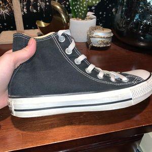Converse Shoes - Black High Top Converse
